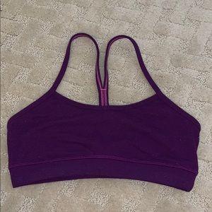 lulu lemon purple sports bra